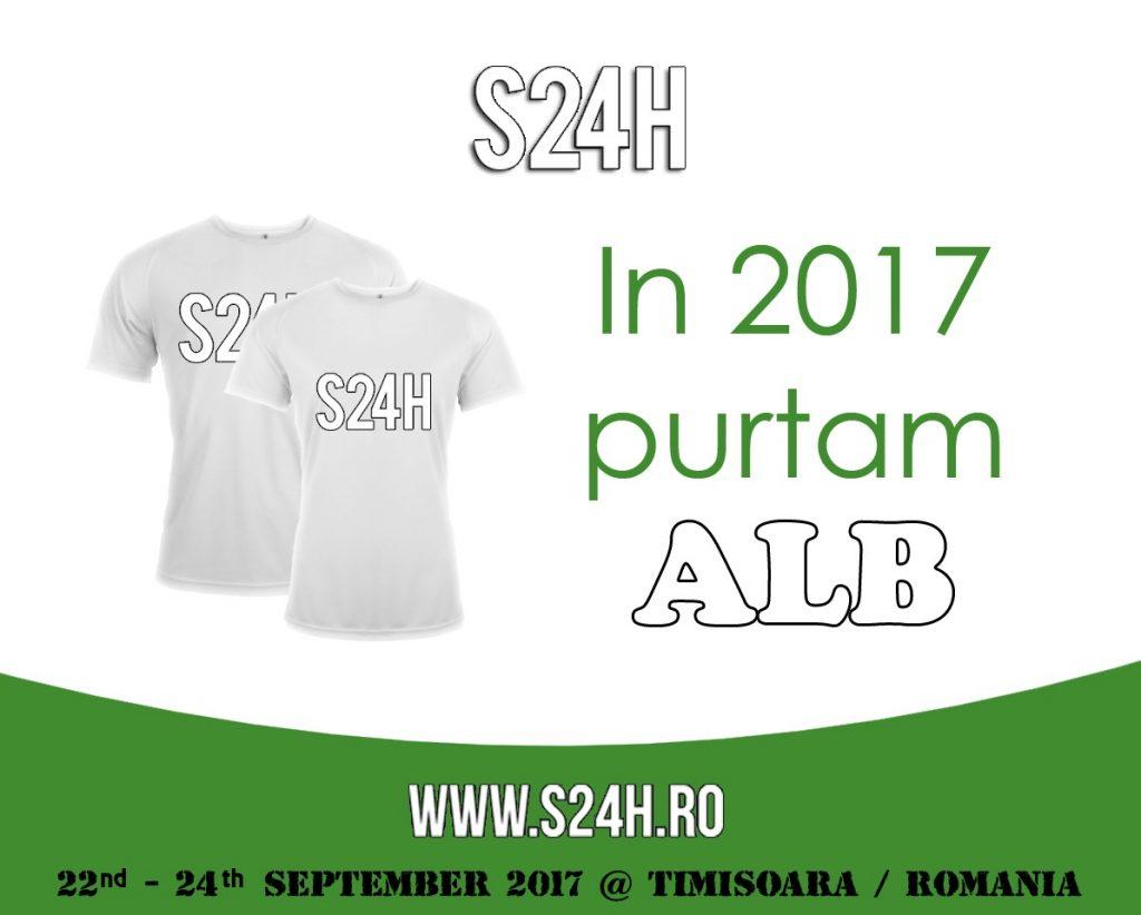 Newsletter S24H Iulie 2017 - Purtam alb